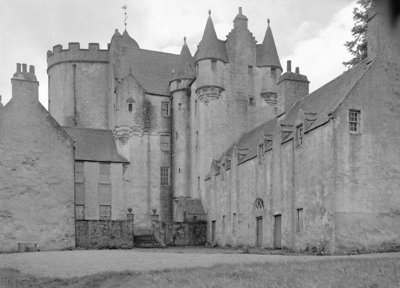 View of Midmar Castle from north east.