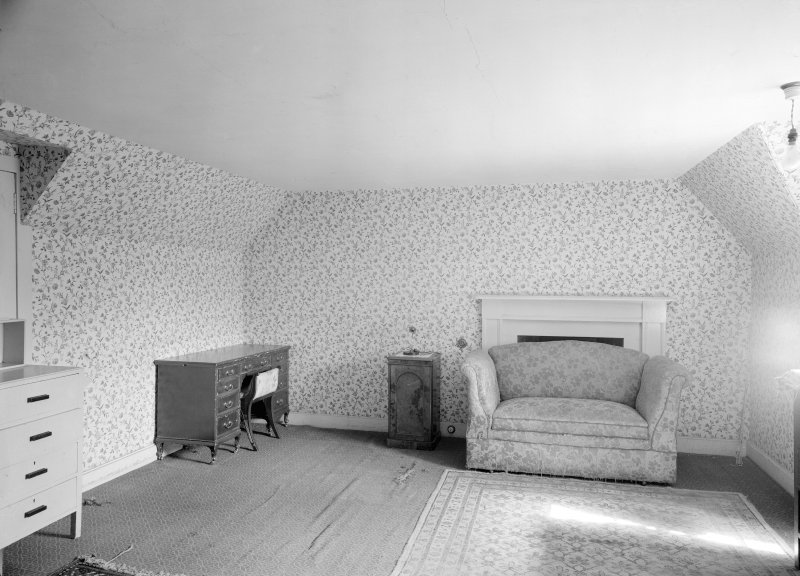 Interior view of Westhall House showing room.