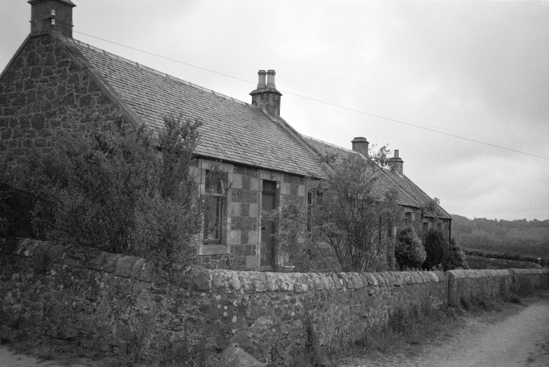 View of workers' cottages from the SW