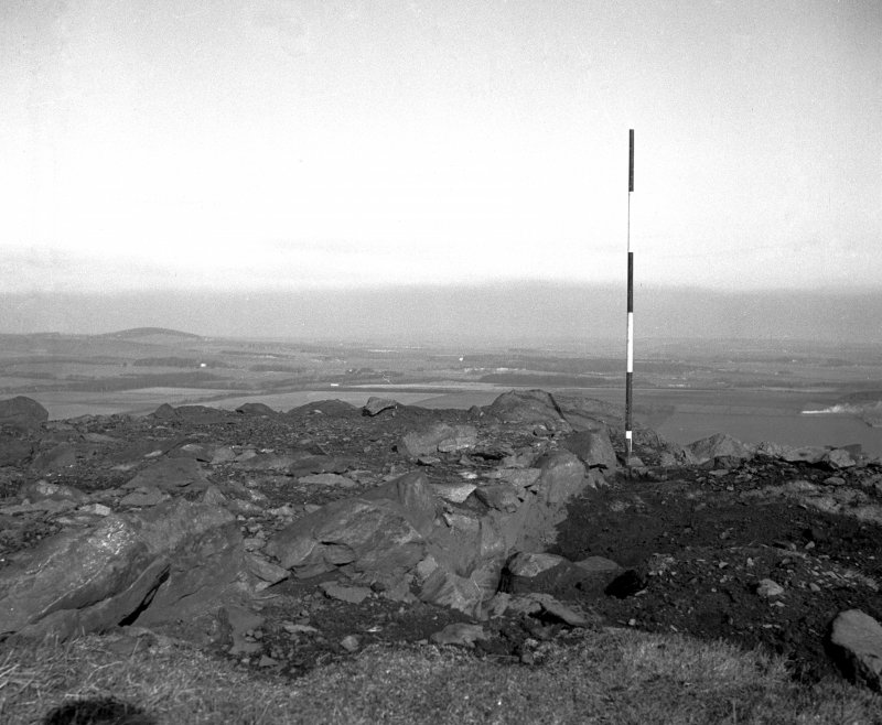 Excavation photograph, summit trench