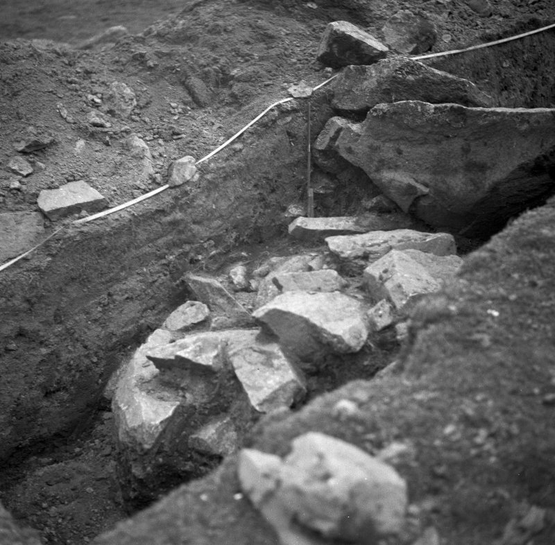 Excavation photograph. Cutting 1