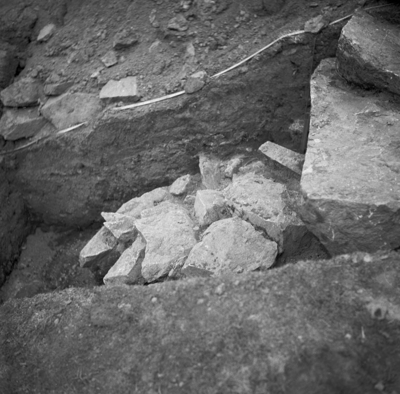 Excavation photograph, cutting 1
