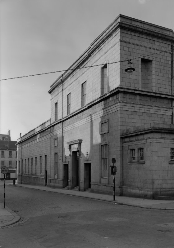 View of side of the Music Hall, 174-194 Union Street, Aberdeen.