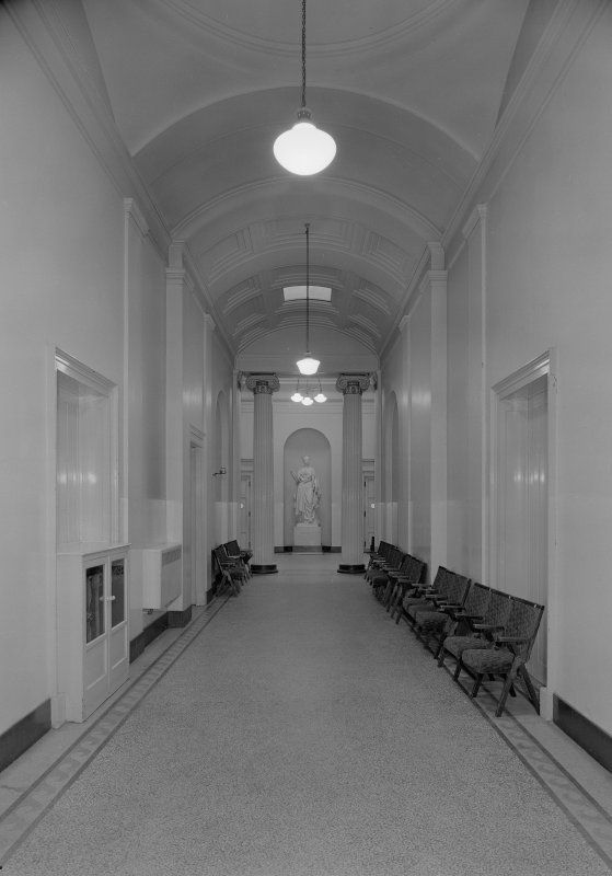 Interior view of the Music Hall, 174-194 Union Street, Aberdeen, showing hall.