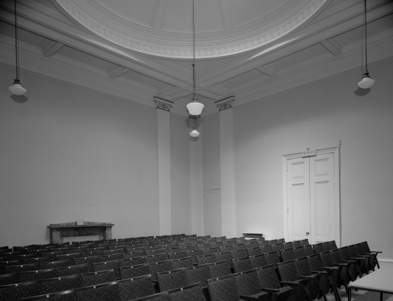 Interior view of the Music Hall, 174-194 Union Street, Aberdeen, showing detail of auditorium.