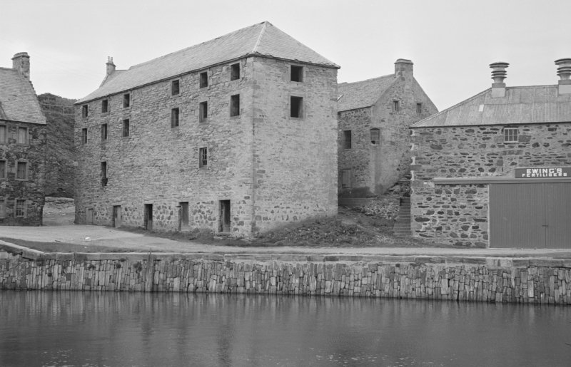 General view of Corf Warehouse, Shorehead, Portsoy.
