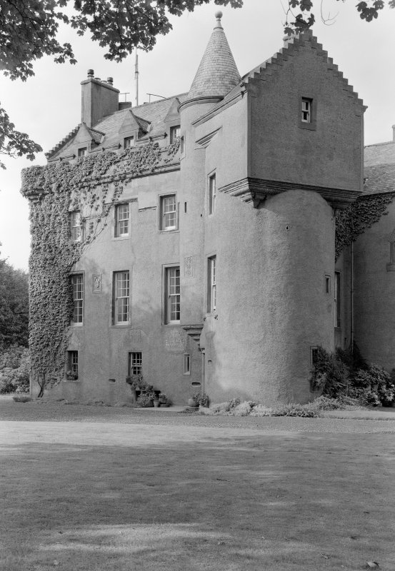 View of Colliston Castle from S.