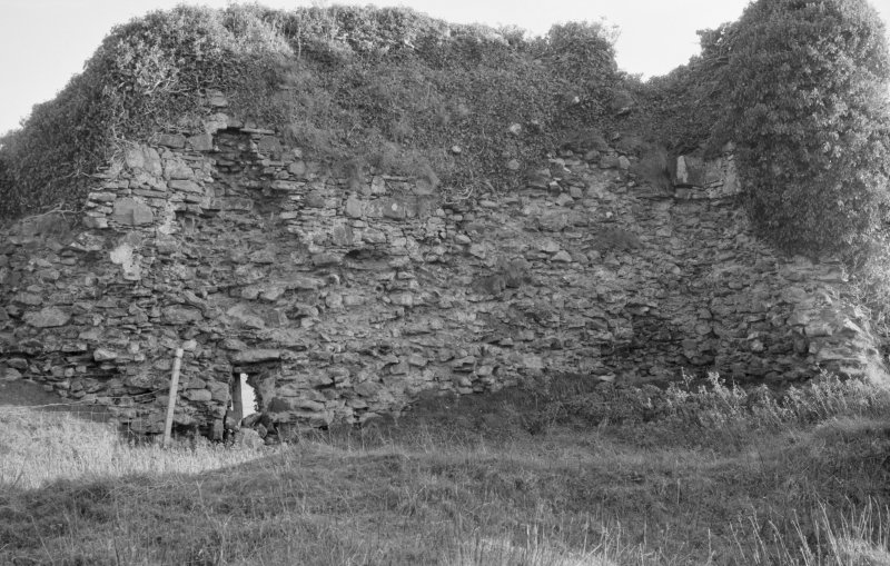 General view of the remains of Knock Castle, Skye.