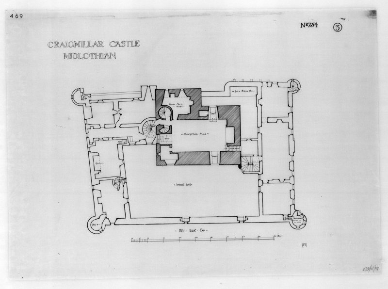 Plan of first floor