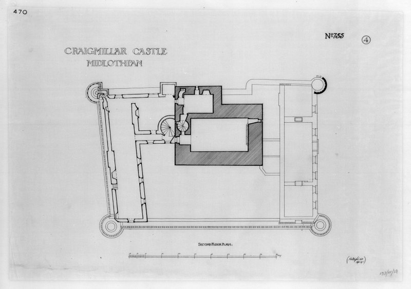 Plan of second floor