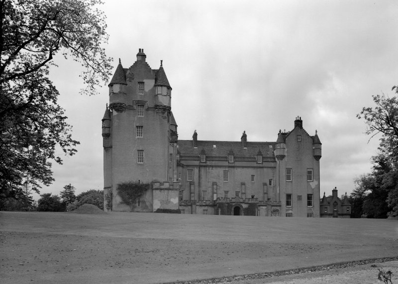 General view of Fyvie Castle from east.