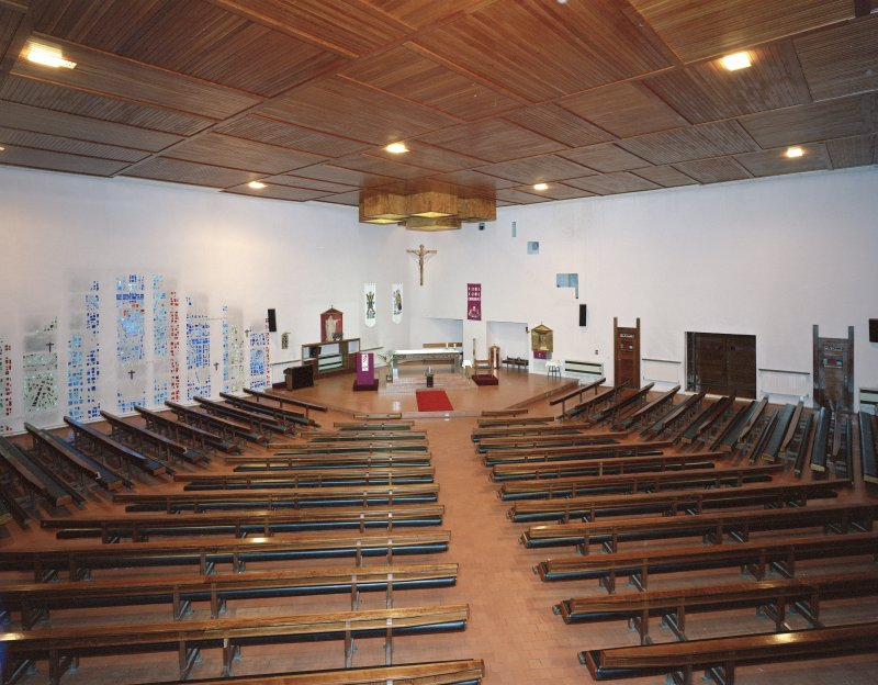 Interior. View from North-East.