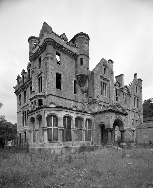 View of Kilmahew House from South West