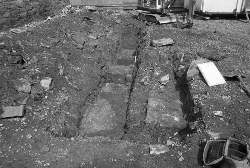 153-5 South Street Film 1 Frame 20 - General view of cut features in trench C - from south