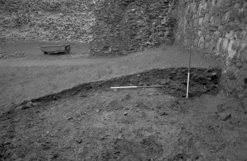 Inverlochy Castle Frame 3 - The east section of the main trench