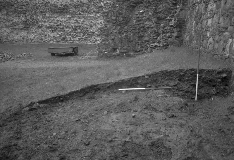 Inverlochy Castle Frame 4 - The east section of the main trench