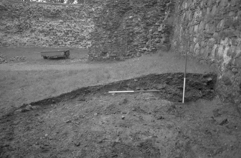 Inverlochy Castle Frame 5 - The east section of the main trench