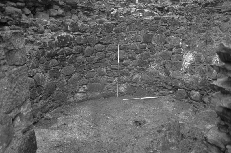 Inverlochy Castle Frame 12 - The south wall of the southwest tower; from north