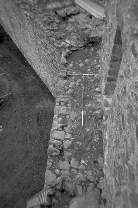 Inverlochy Castle Frame 25 - The junction of the west and north curtain walls; from east