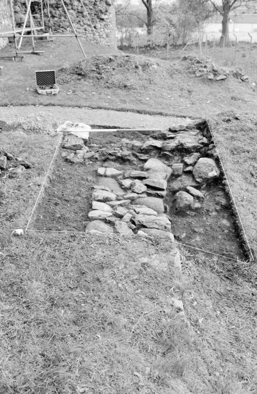 Inverlochy Castle Frame 12 - Trench B: terrace F303; from east
