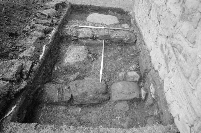 Newark Castle Frame 15 - Trench AA - from east