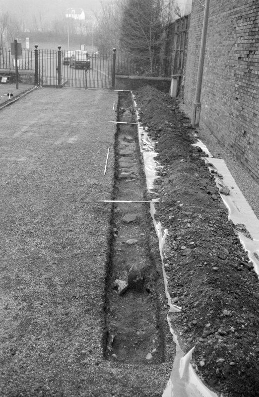 Newark Castle Frame 18 - Trench L - from north