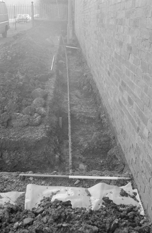 Newark Castle Frame 23 - Trench M - from north