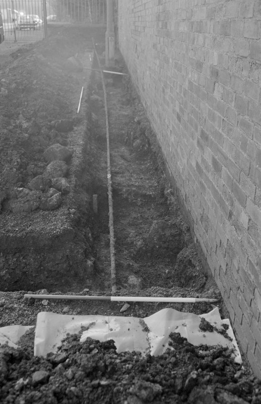 Newark Castle Frame 24 - Trench M - from north