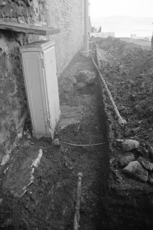 Newark Castle Frame 26 - Trench M - from south