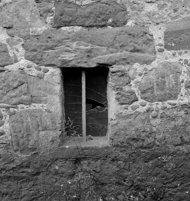 Detail of window, Aldbar Castle.
