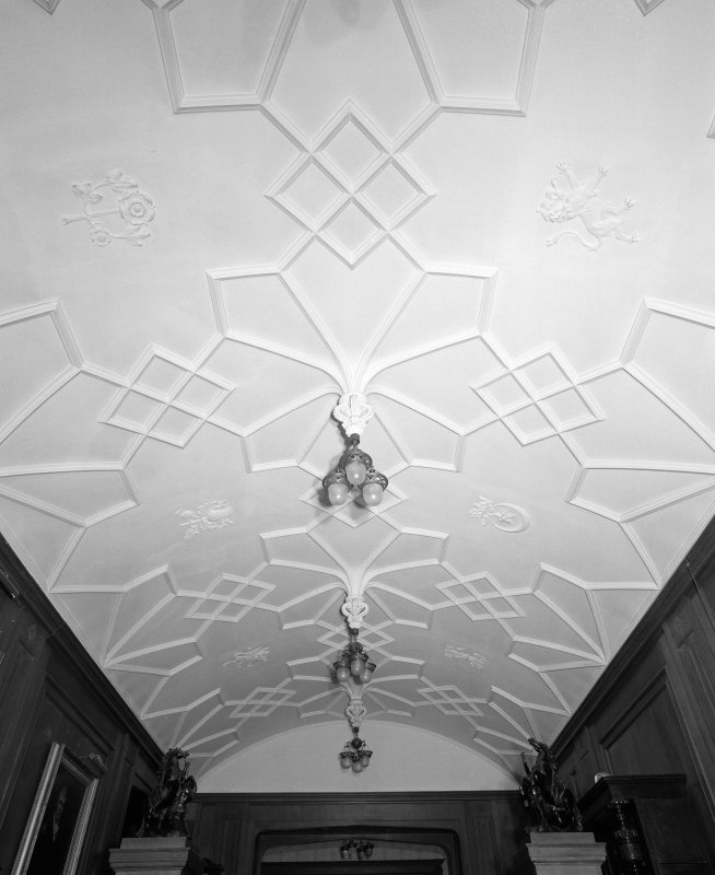View of entrance hall ceiling