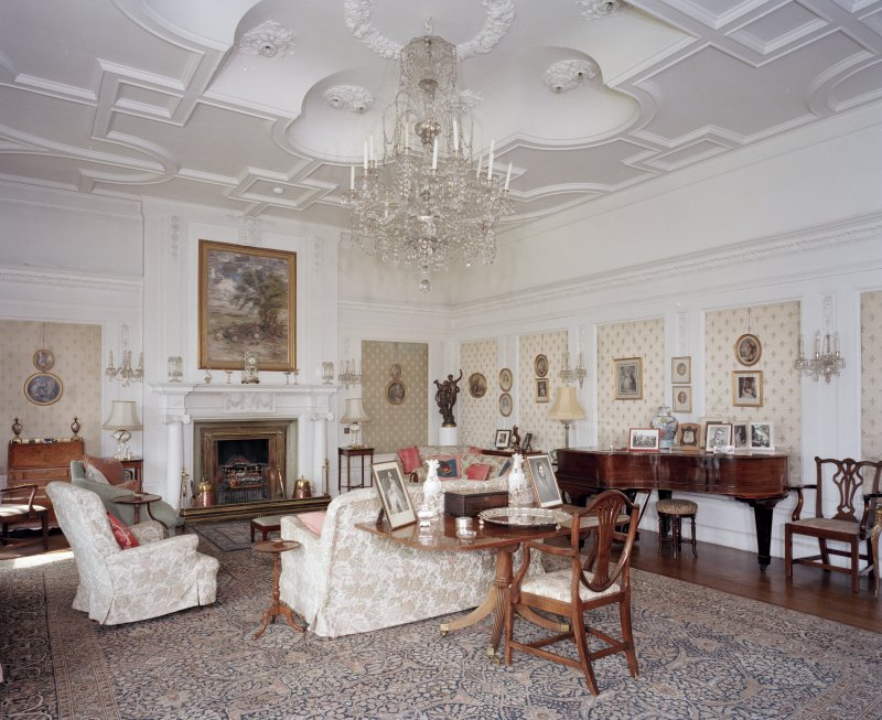 View of drawing room from South East