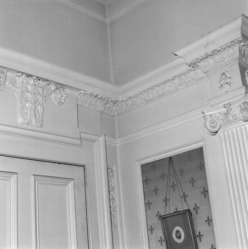 Drawing room detail of woodwork