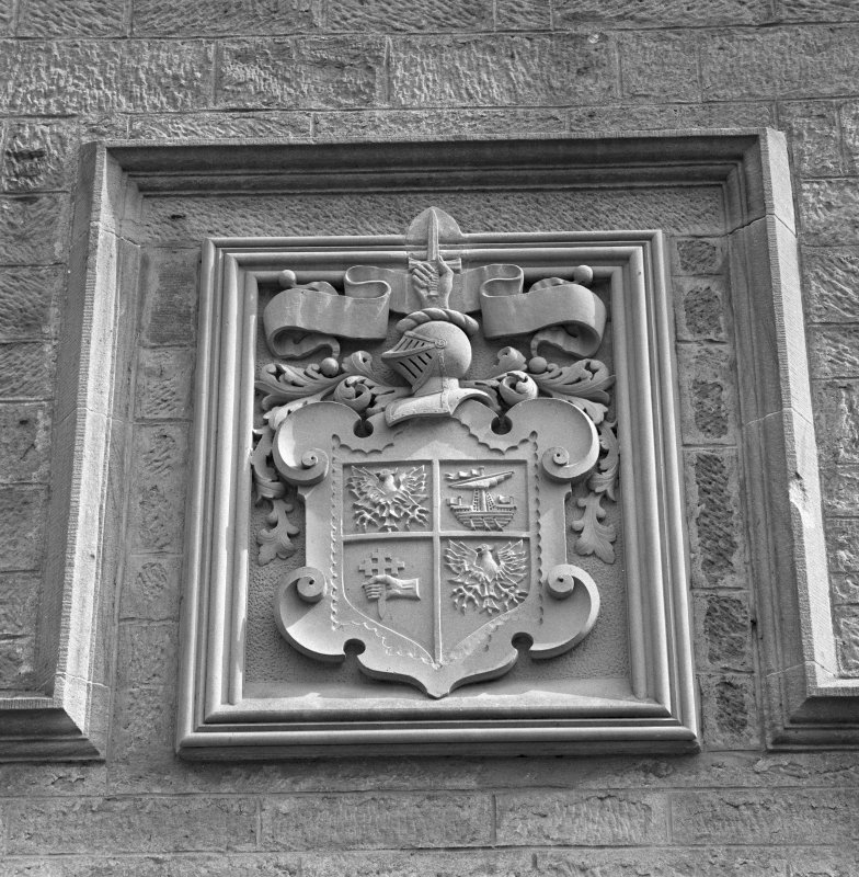 Detail of armorial panel
