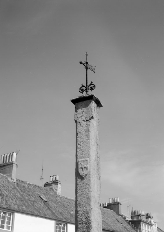 Detailed view of the Market Cross, Anstruther Easter.