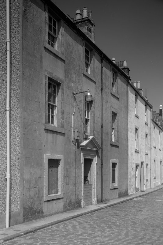 View of 2 and 3 Castle Street, Anstruther Easter, from SW.