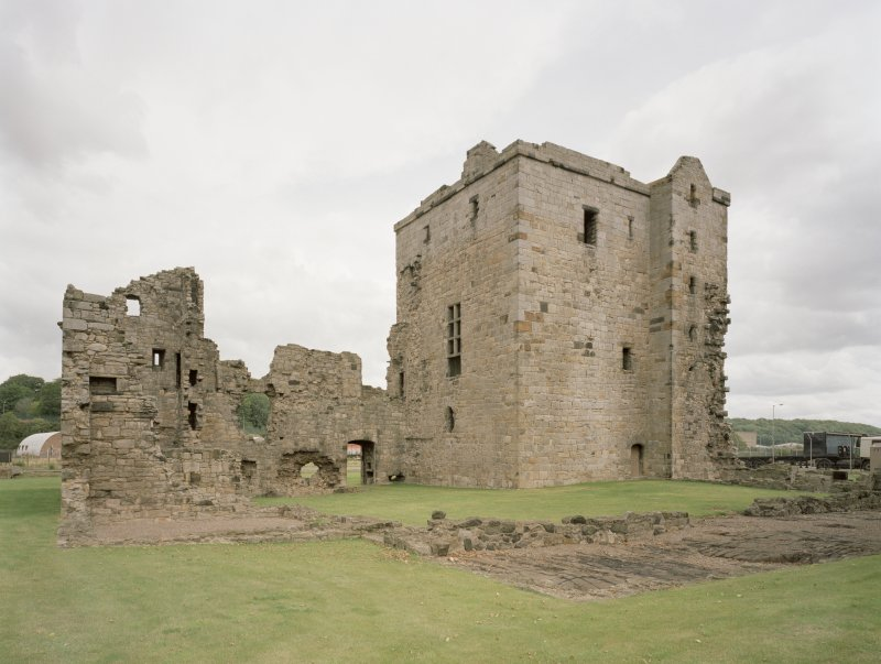 View of Rosyth Castle from South West