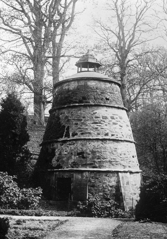 View of dovecot at Mertoun House.