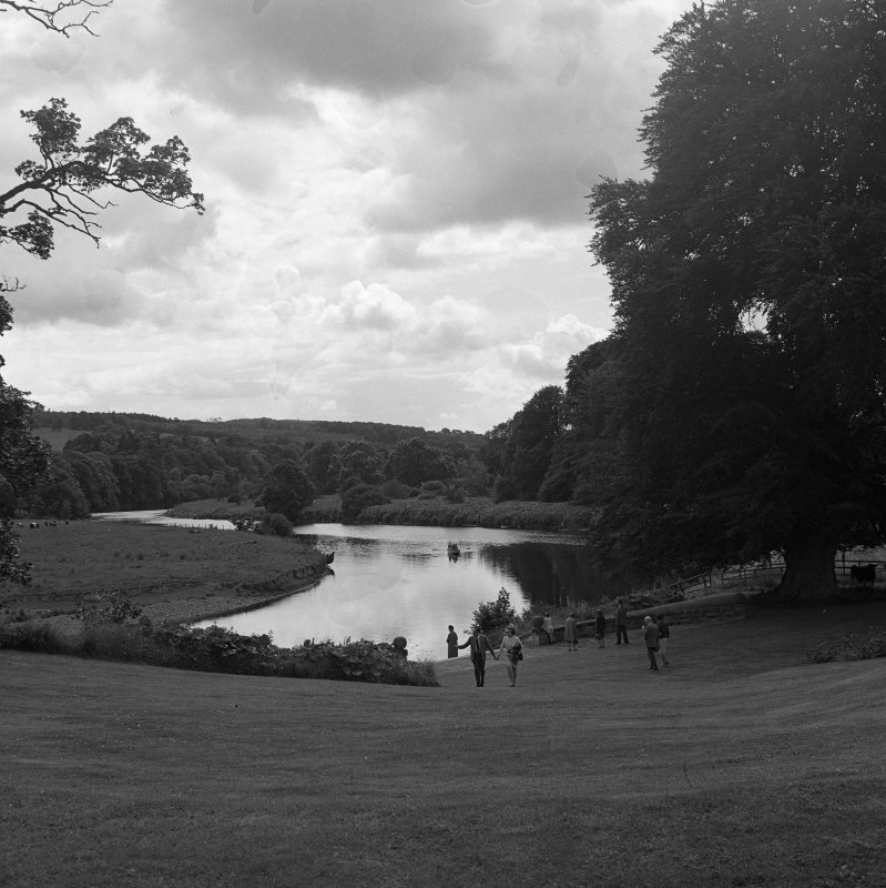 View of Monteviot Pool, River Teviot.