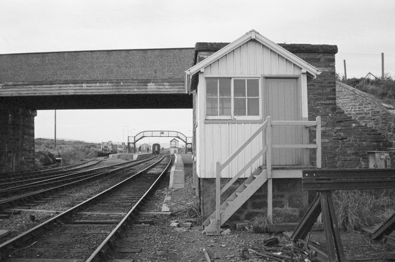 View of north signal box, Georgemas Junction Staton.