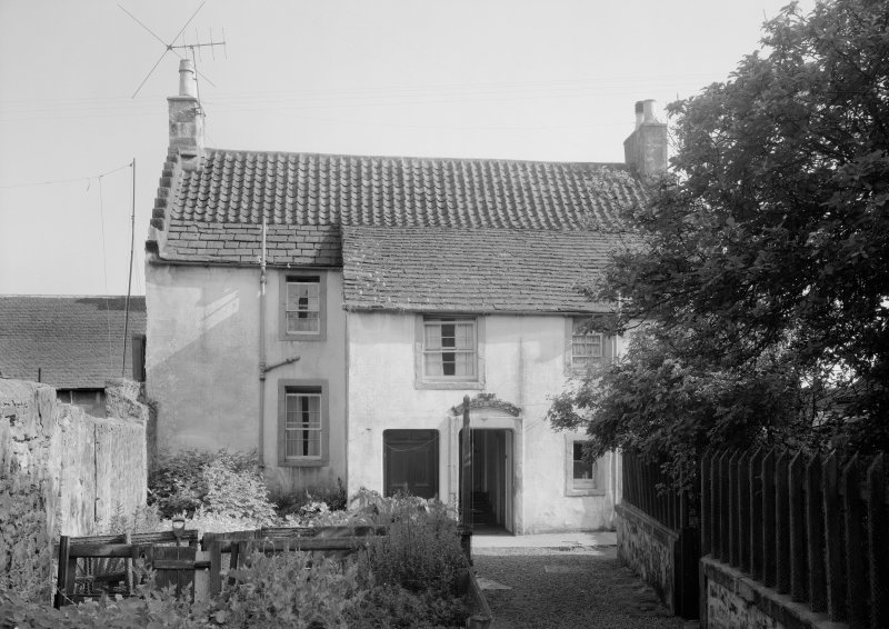 View of Old Post Office, Chalmers' Birthplace, Anstruther Easter, from N.