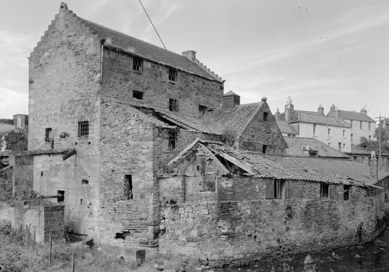 General view of Dreel Burn Mill, Anstruther Easter.