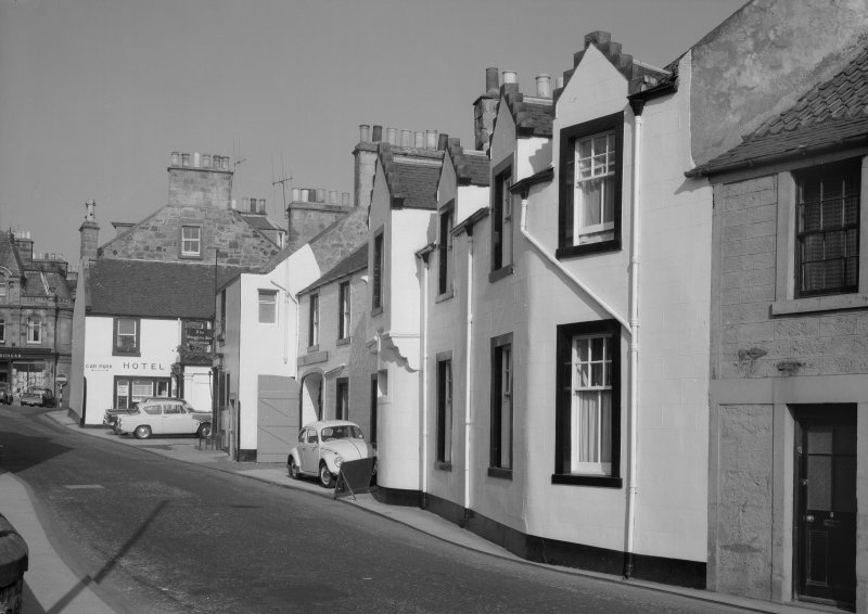 View of Smuggler's Inn, High Street, Anstruther Easter, from W.