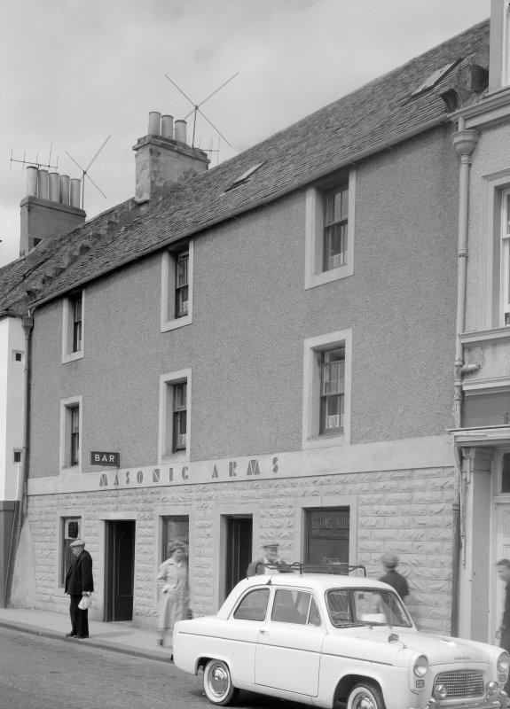 View of Masonic Arms, 12 Shore Street, Anstruther Easter, from S.