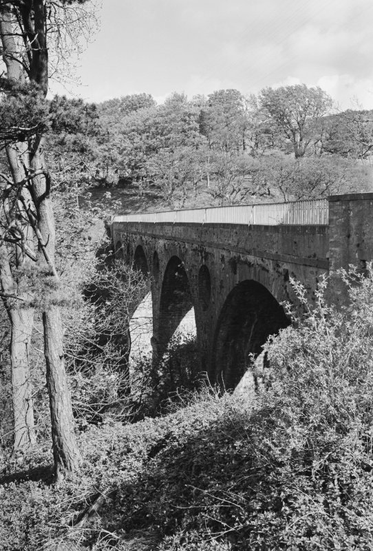 General view of Pease Bridge, Cockburnspath.