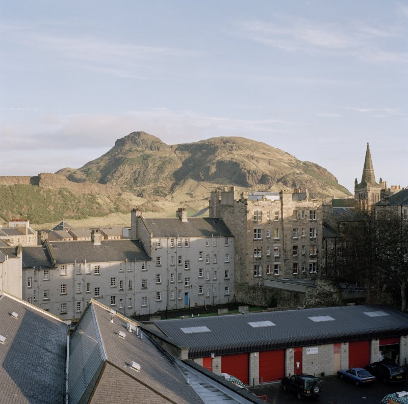 Holyrood Park: general view of Arthur's Seat from John Sinclair House (RCAHMS premises)
