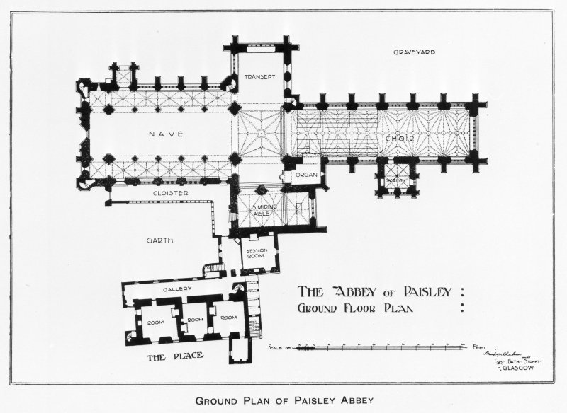 Ground plan.