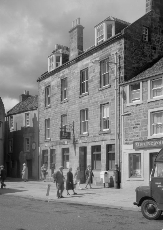 View of the Post Office, Shore Street, Anstruther Easter, from S.