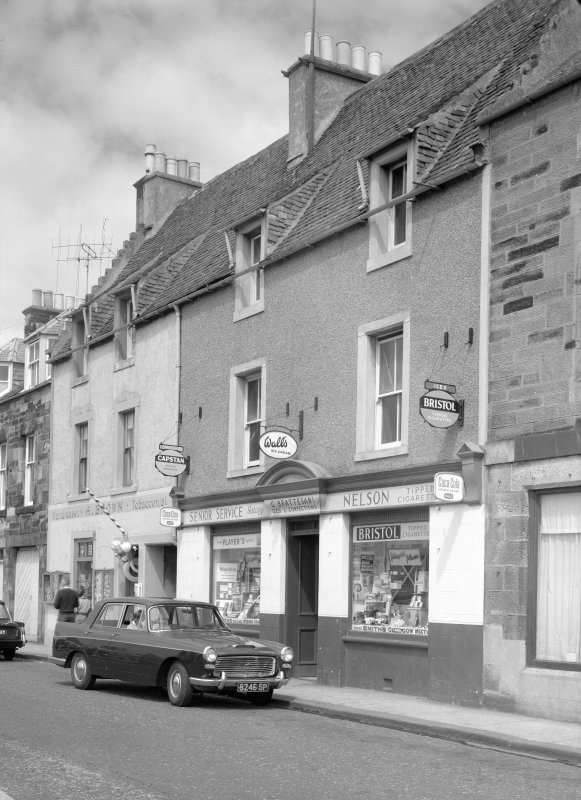 View of 41-43 Shore Street, Anstruther Easter, from SE.