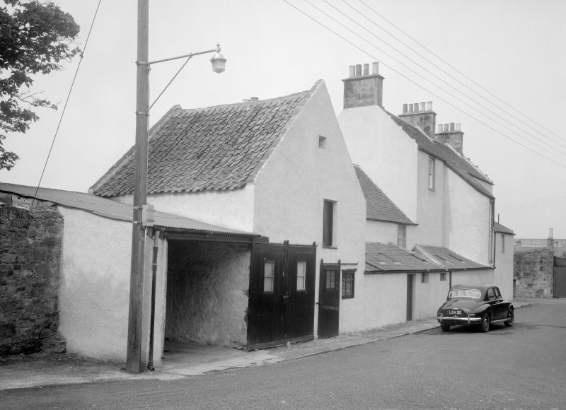 View of street elevation of The Hermitage, Anstruther Easter.